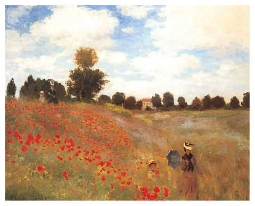 Poppy Field At Argenteuil