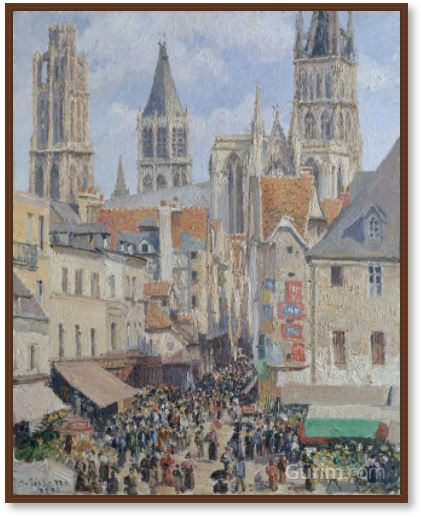 Rue de l'Épicerie, Rouen (Effect of Sunlight)
