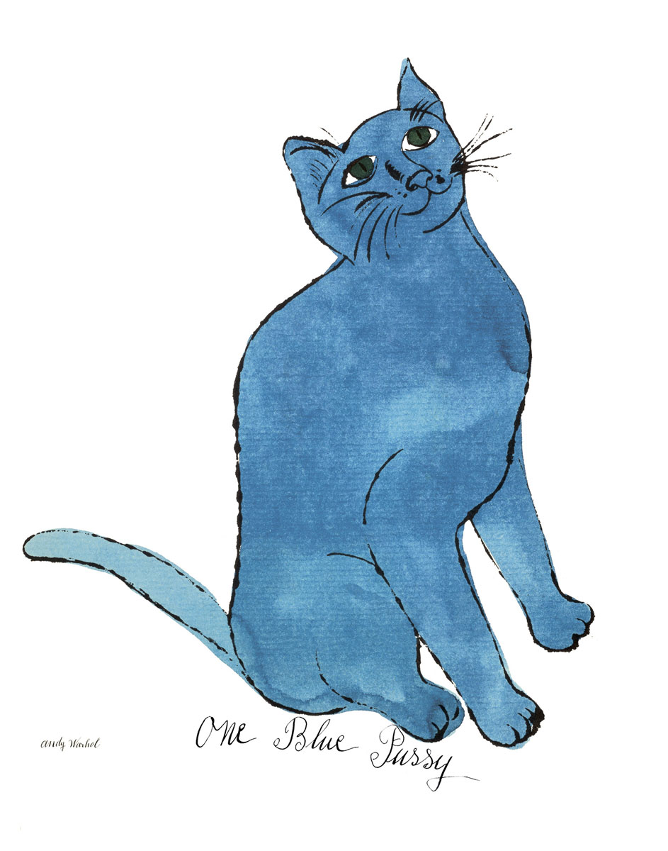 Cat From 25 Cats Named Sam and One Blue Pussy, c. 1954 (One Blue Pussy)