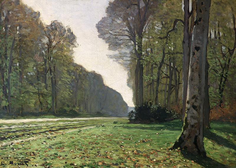 The Road to Bas-Breau, Fontainebleau(Le Pave de Chailly), c.1865