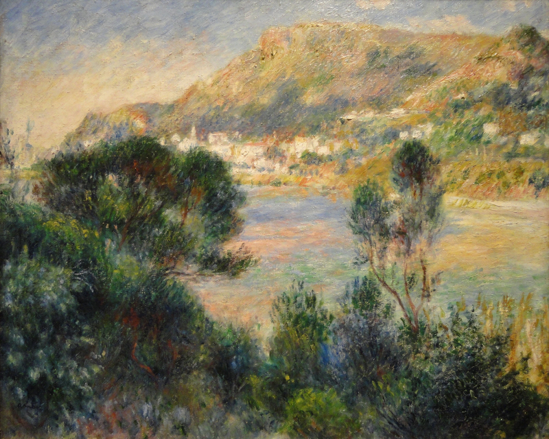 View From Cap Martin of Monte Carlo, 1884