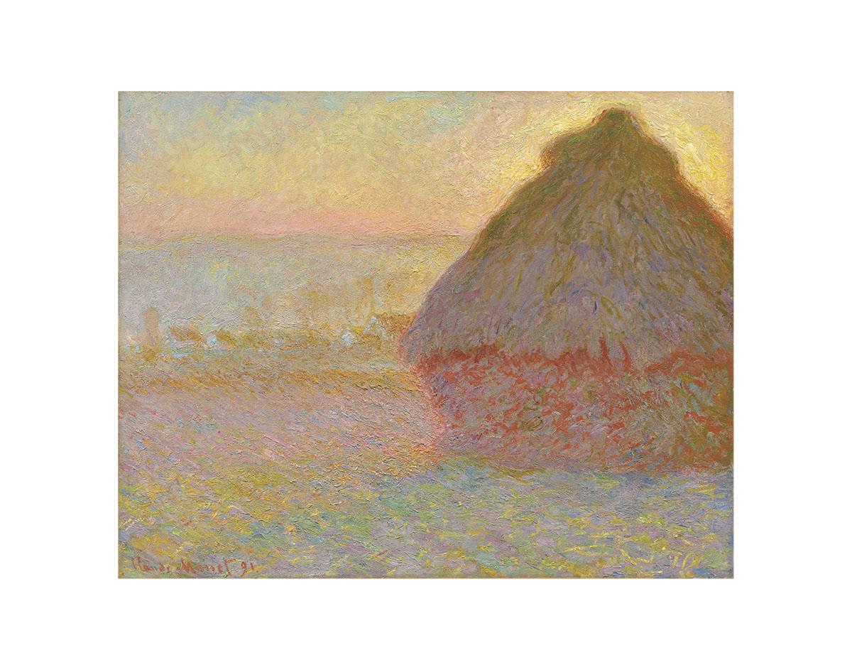 Grainstack (Sunset), 1891