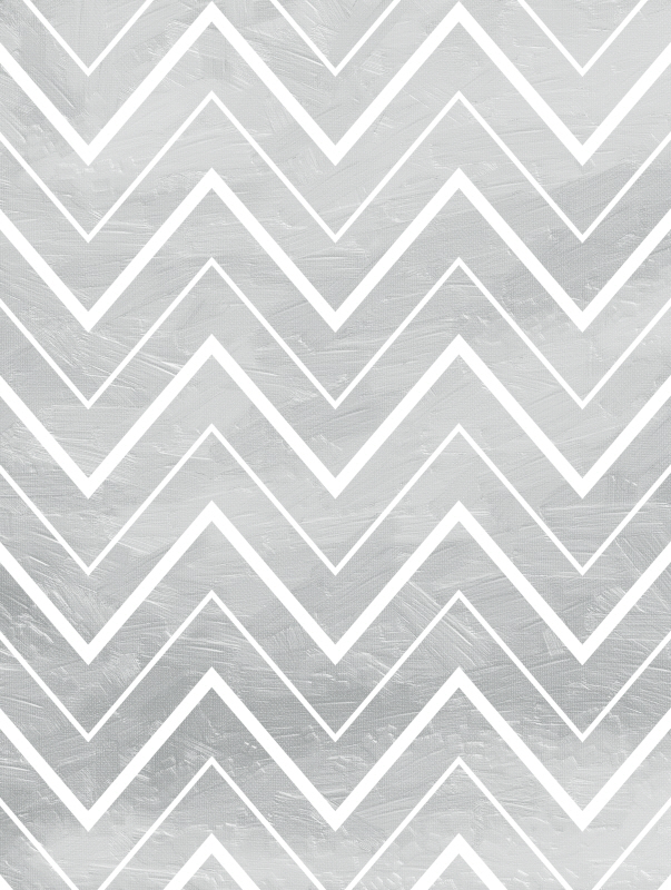 Silver Chevron Mate
