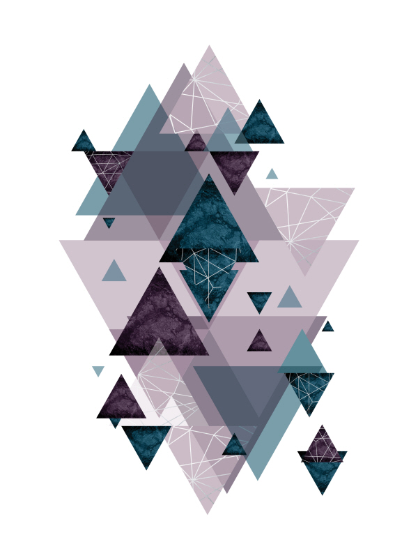 Geo Triangles SoftLuxe