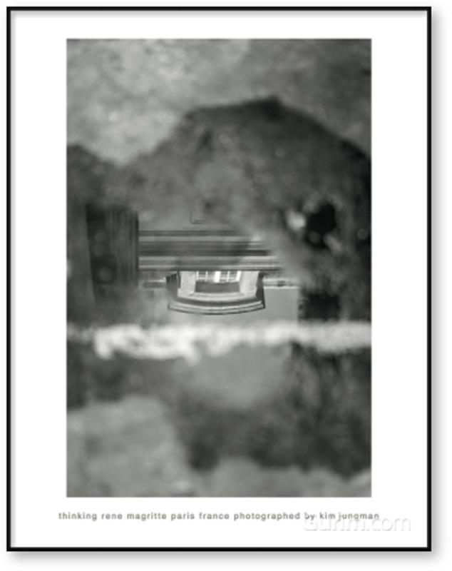 thinking rene magritte (paris france)