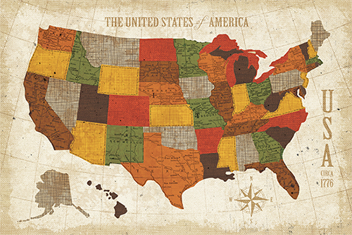 USA Modern Vintage Spice