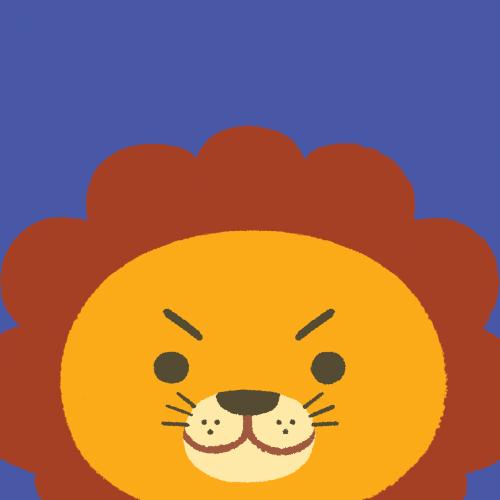 Tile Lion