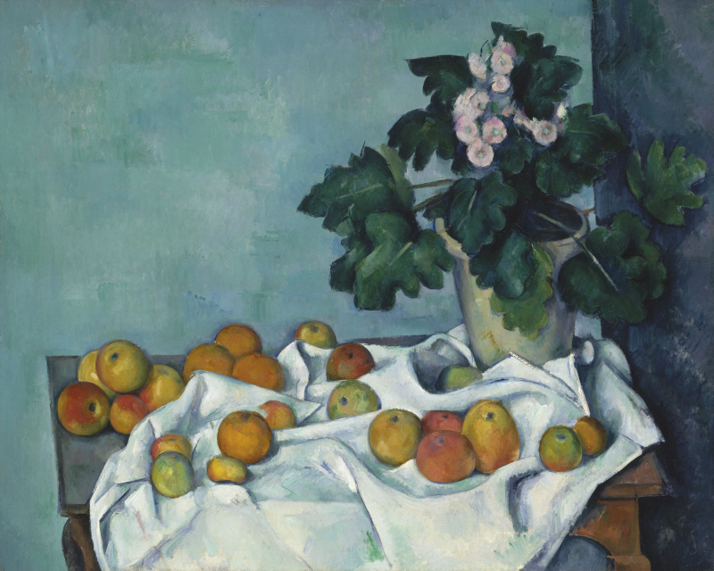 Still Life with Apples and a Pot of Primroses (사과와 앵초화분 정물화)