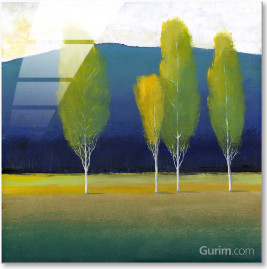 Glowing Trees I