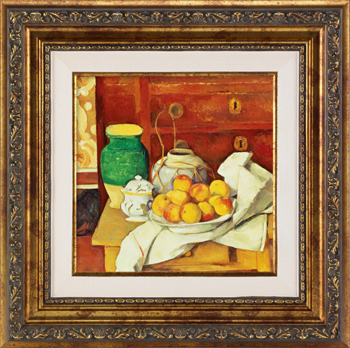 Still Life in Front of a Chest of Drawers