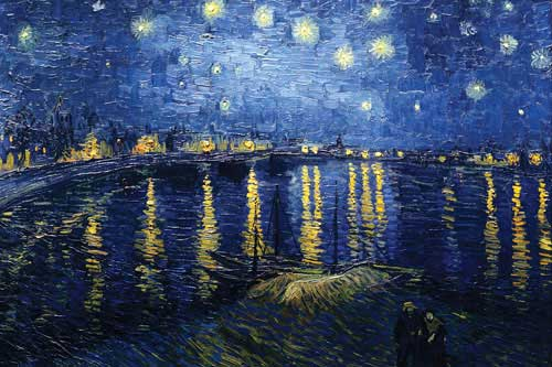 Starry Night on the Rhone