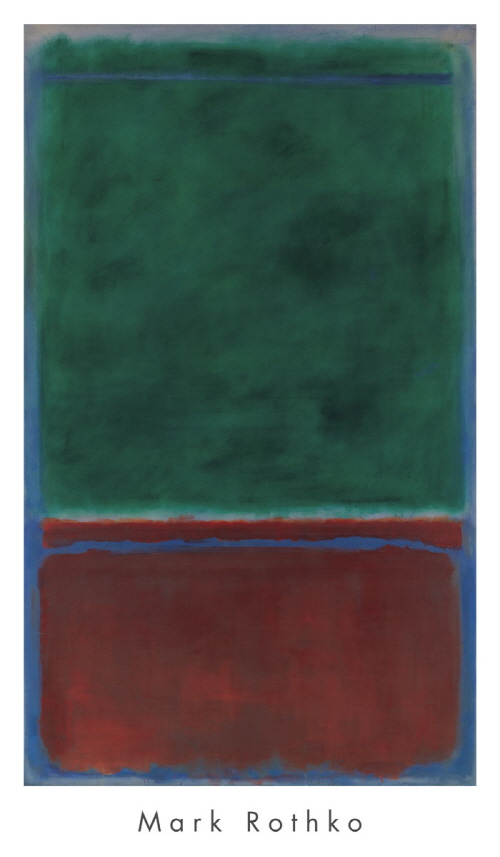 No. 7 (Green and Maroon), 1953