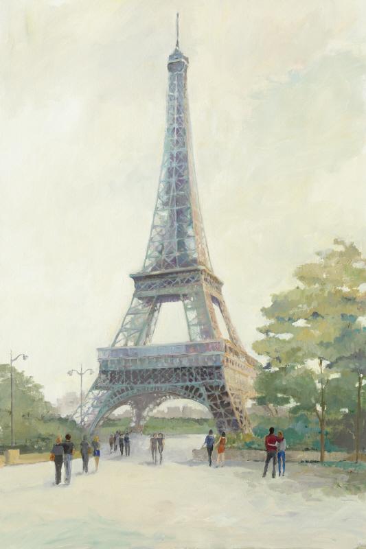 Early Evening Paris