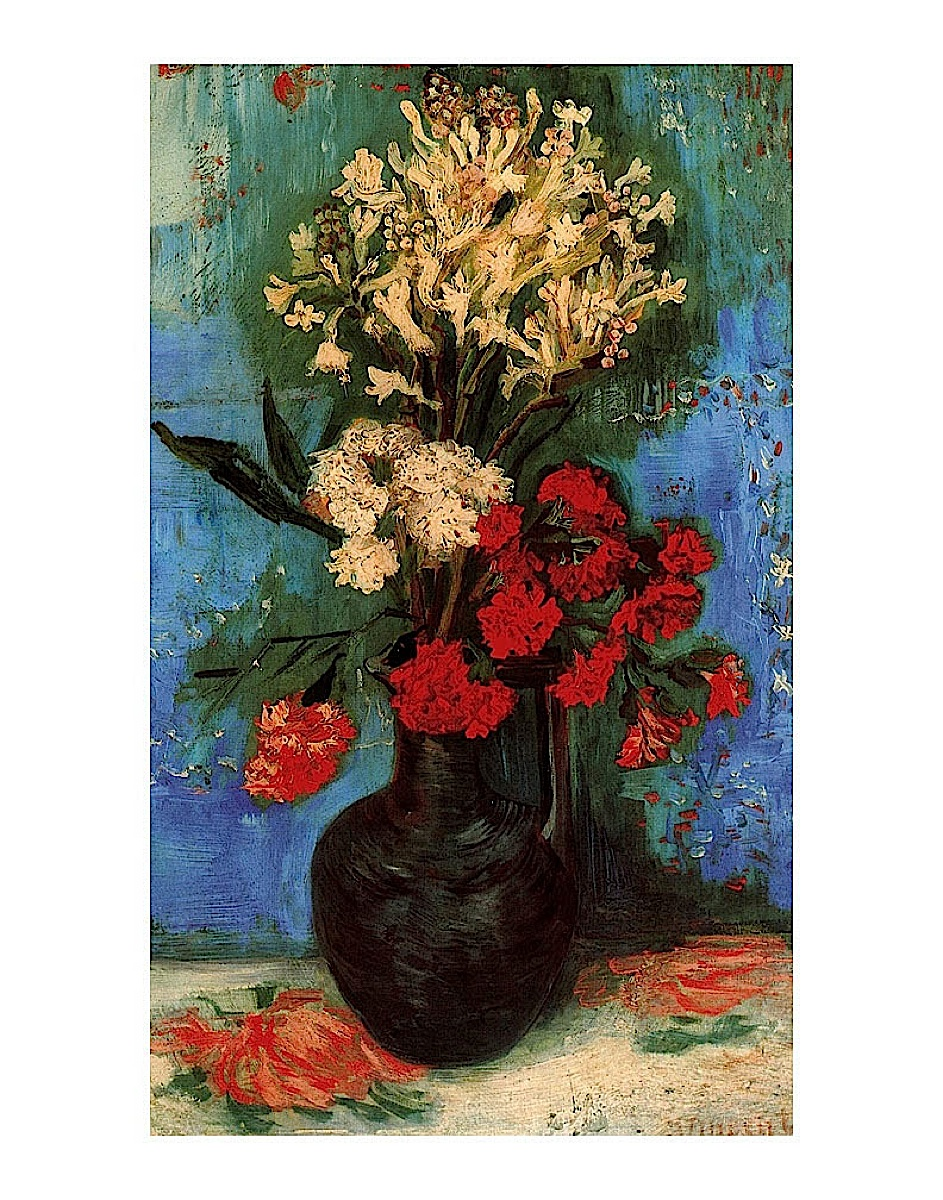 Vase with Carnations and Other Flowers, 1886