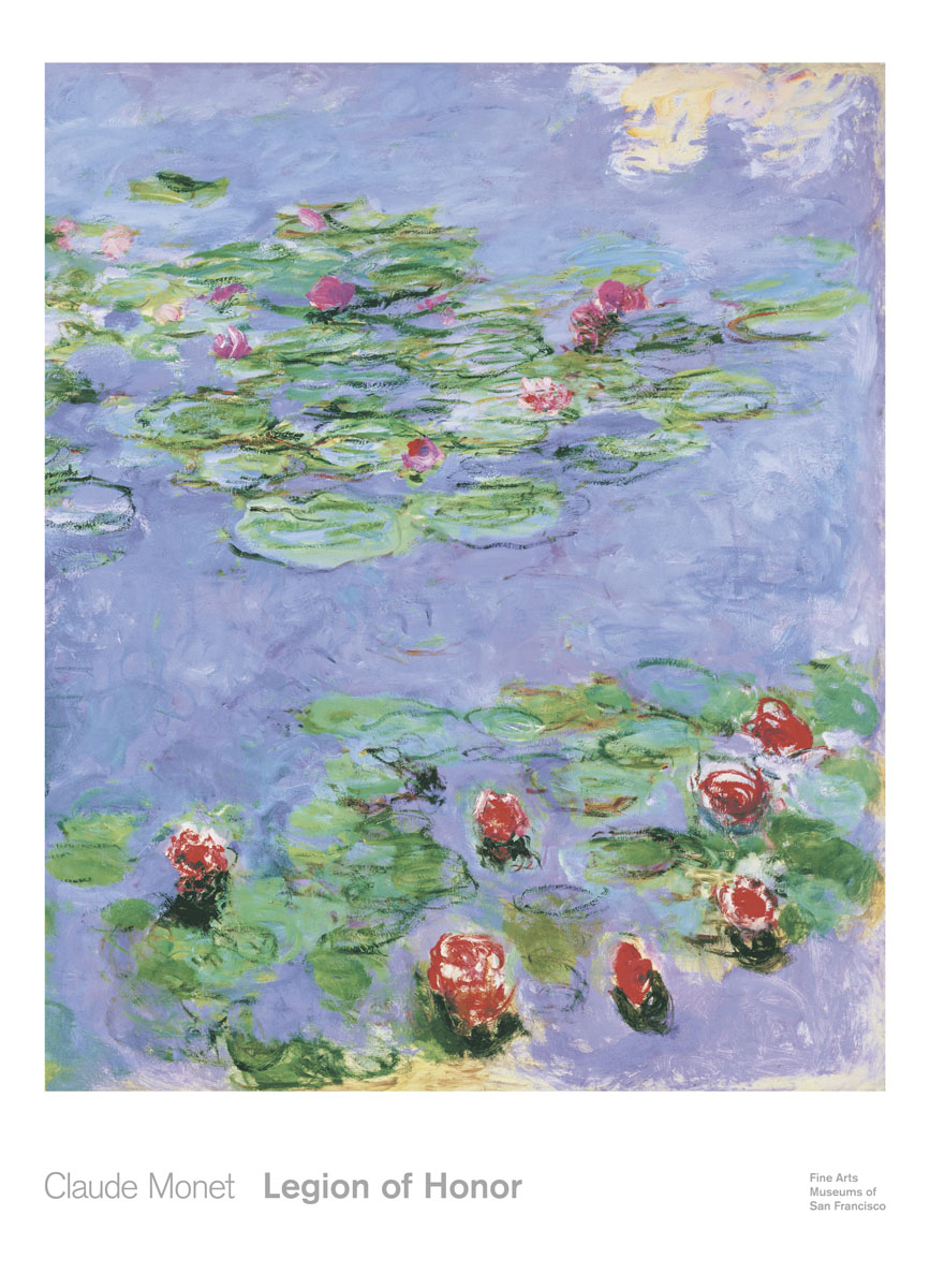 Water Lilies, c. 1914-1917