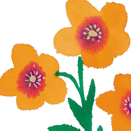 Blooming (orange)