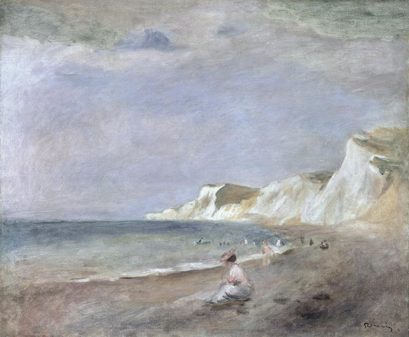 The Beach At Varangeville