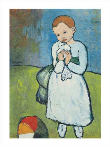 Child With Dove