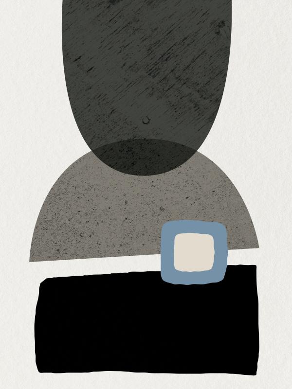 Mid Century Abstract III