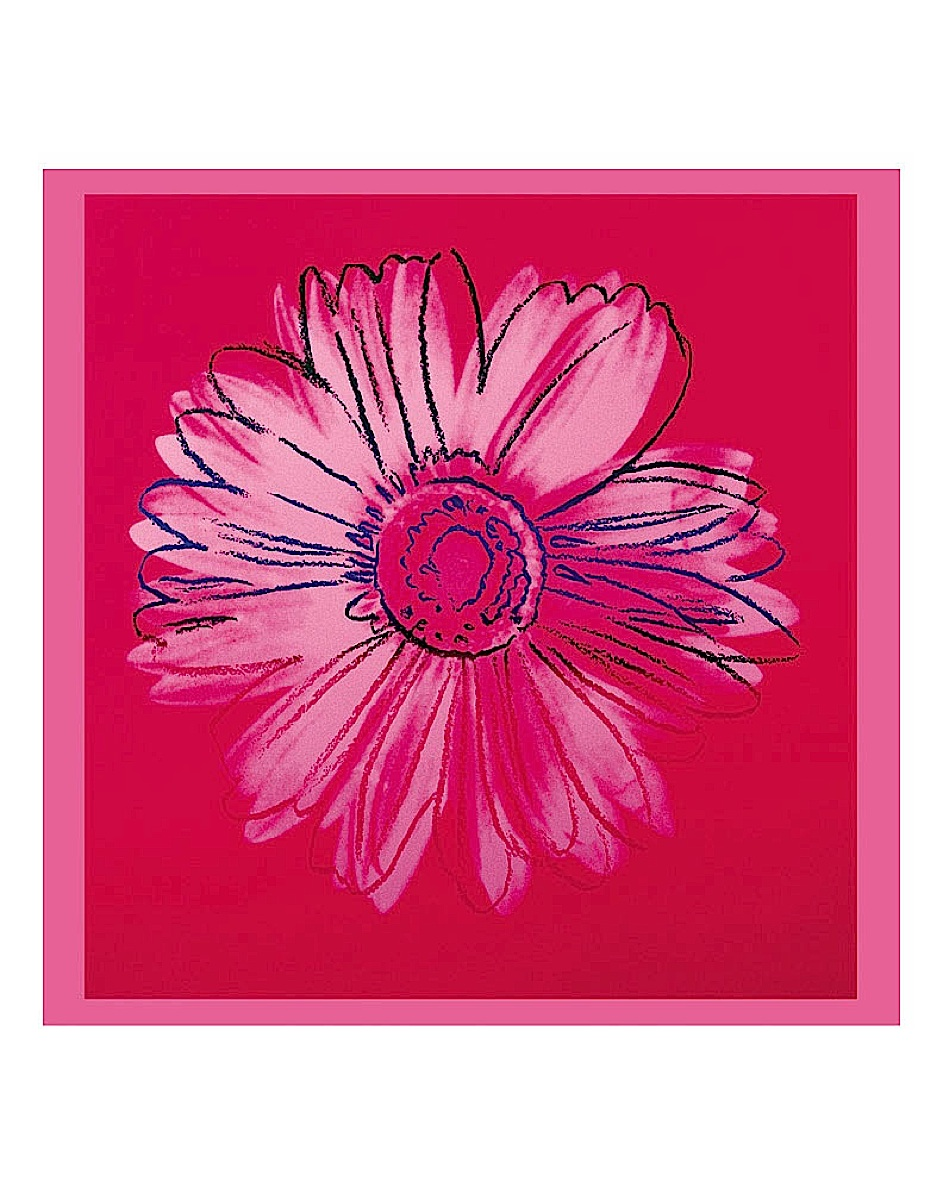 Daisy, c. 1982 (crimson and pink)