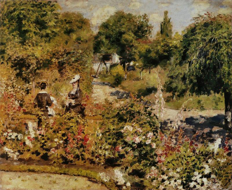 Jardin à Fontenay
