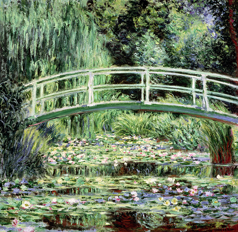 Water Lily Pond, 1899
