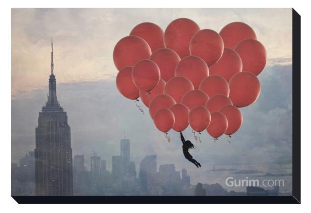 Empire Balloon Girl
