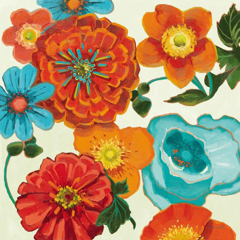Spring Collage Vignette
