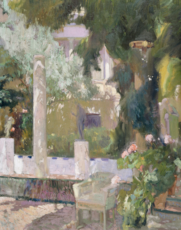 The Gardens at the Sorolla Family House