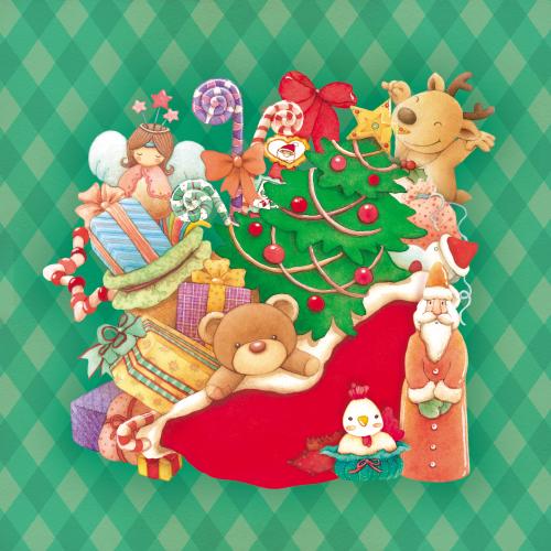 Happy Christmas_Green