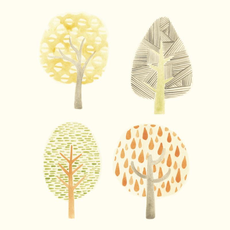 Forest Patterns I