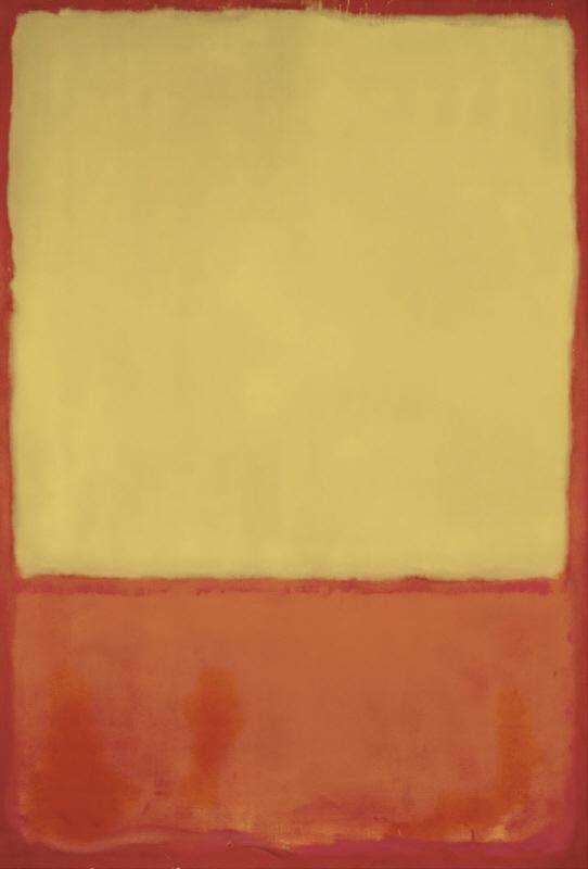 The Ochre (Ochre, Red on Red), 1954