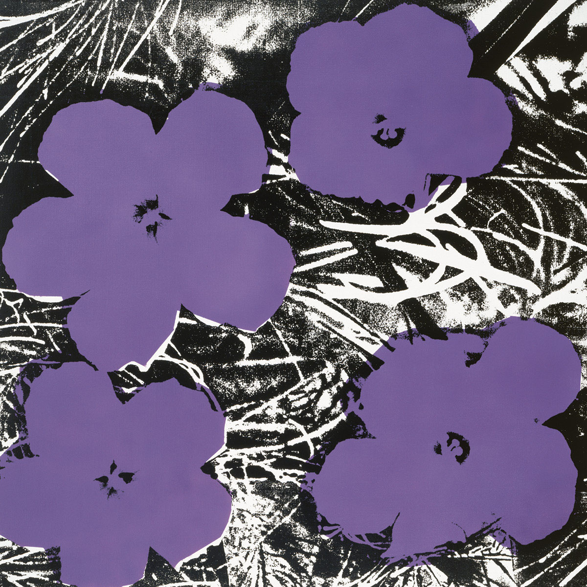 Flowers, c.1965 (4 purple)