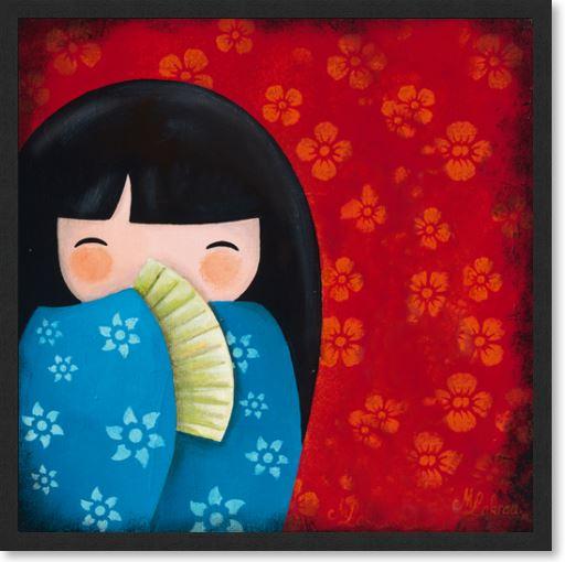 Sayuri en Rouge et Bleu
