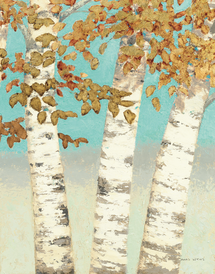 Golden Birches III