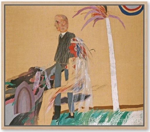 The First Marriage (A Marriage of Styles I), 1962