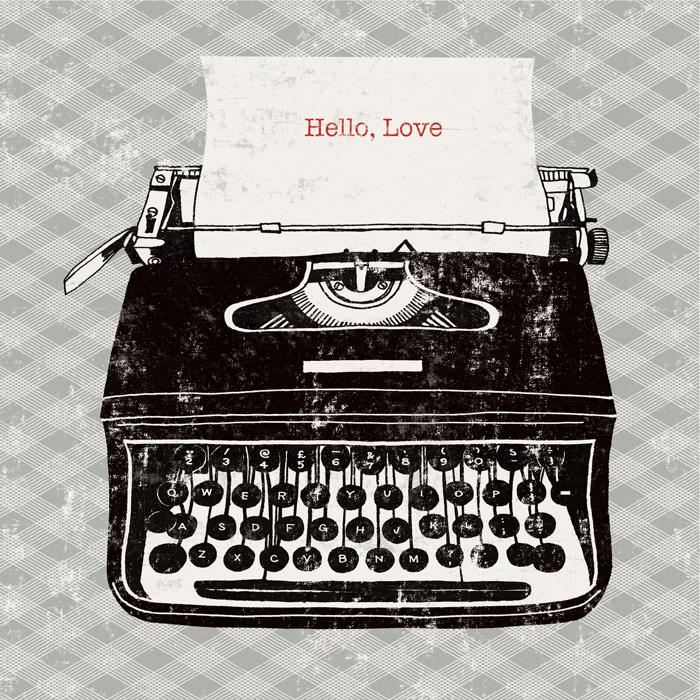 Vintage Analog Typewriter