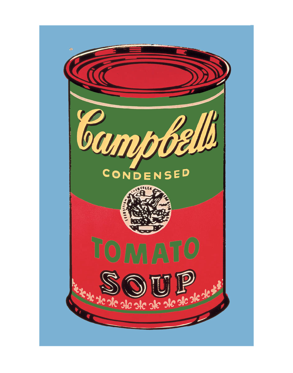 Campbell's Soup Can, 1965 (green & red)