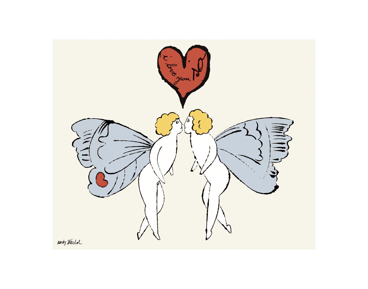 I Love You So, c. 1958 (angel)