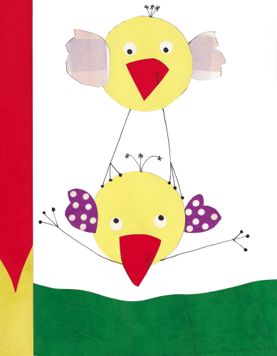 Dandy bird (yellow)