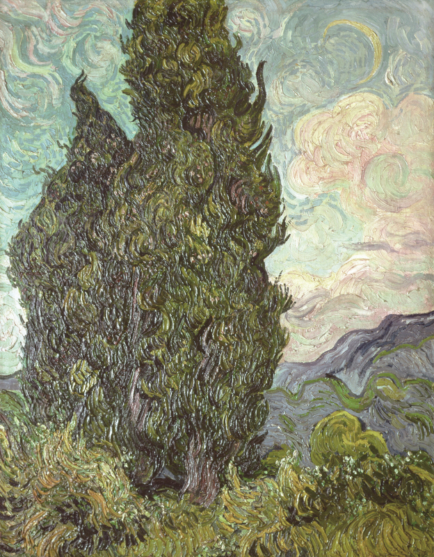 Cipressi (1889)