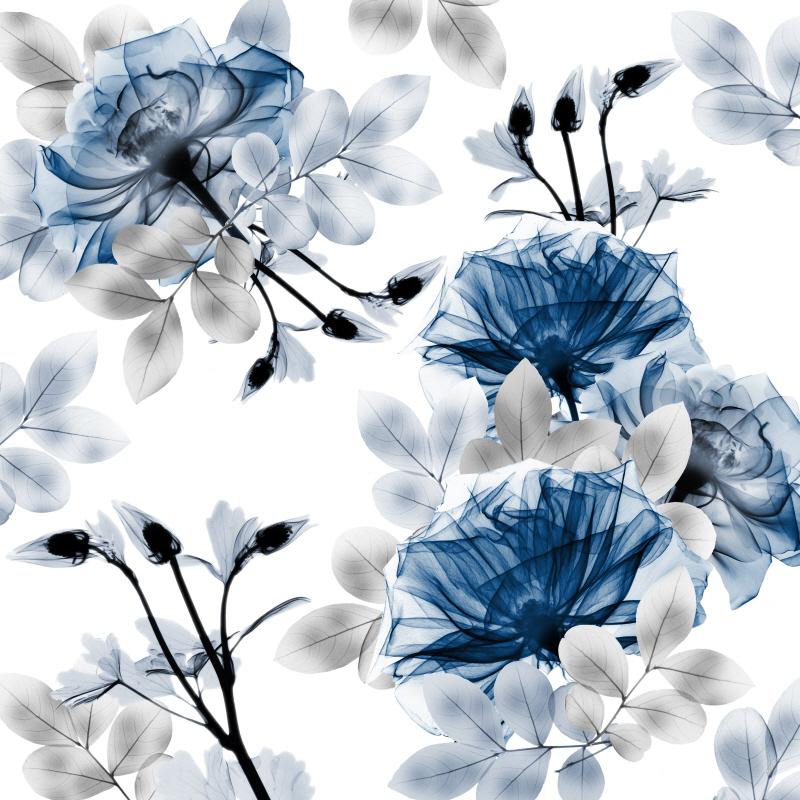 Indigo Bouquets I