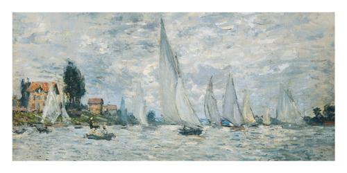 Le barche, regate ad Argenteuil