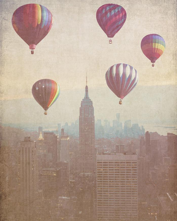 New Vintage Hot Air Balloons