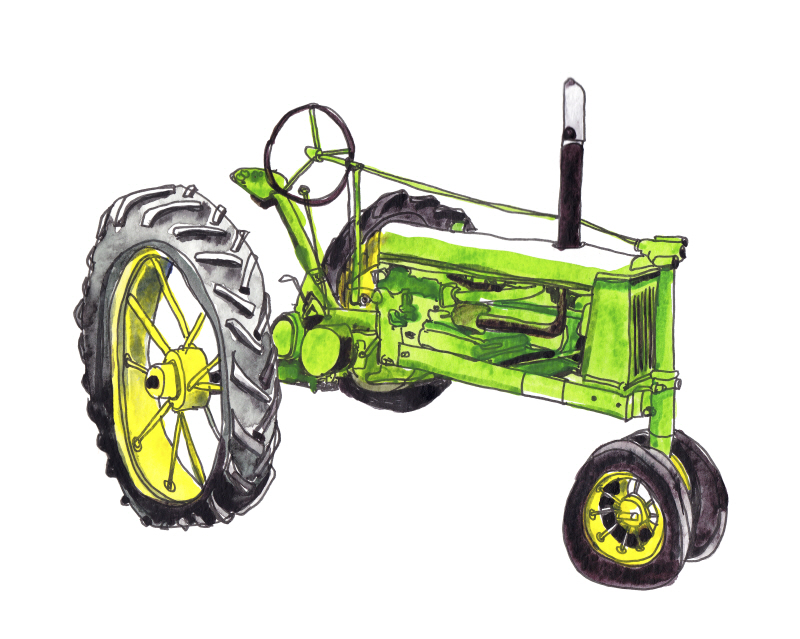 Tractor Study I