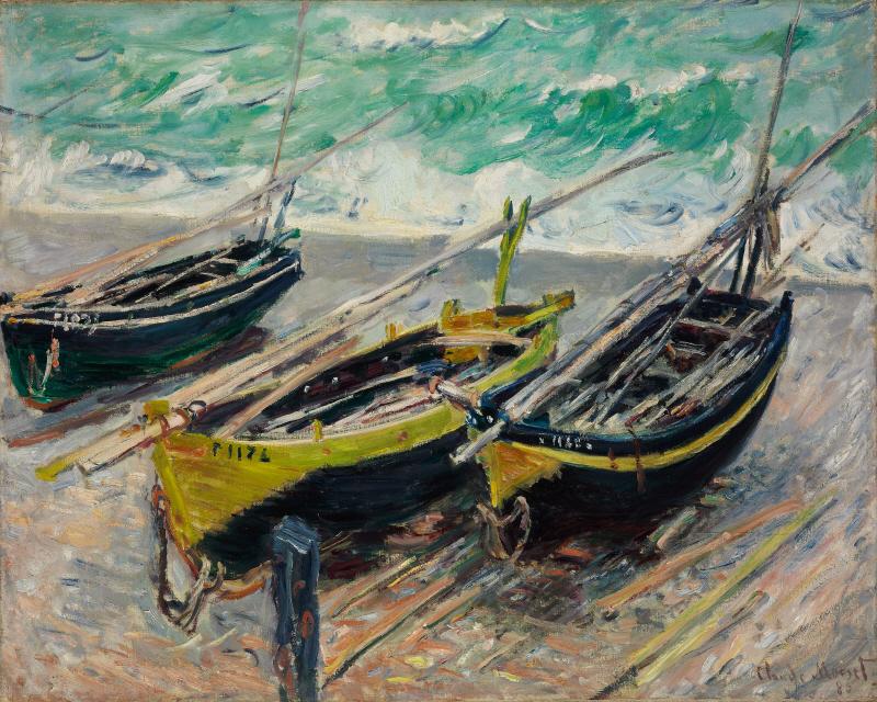 Three Fishing Boats(세 척의 고기잡이배)