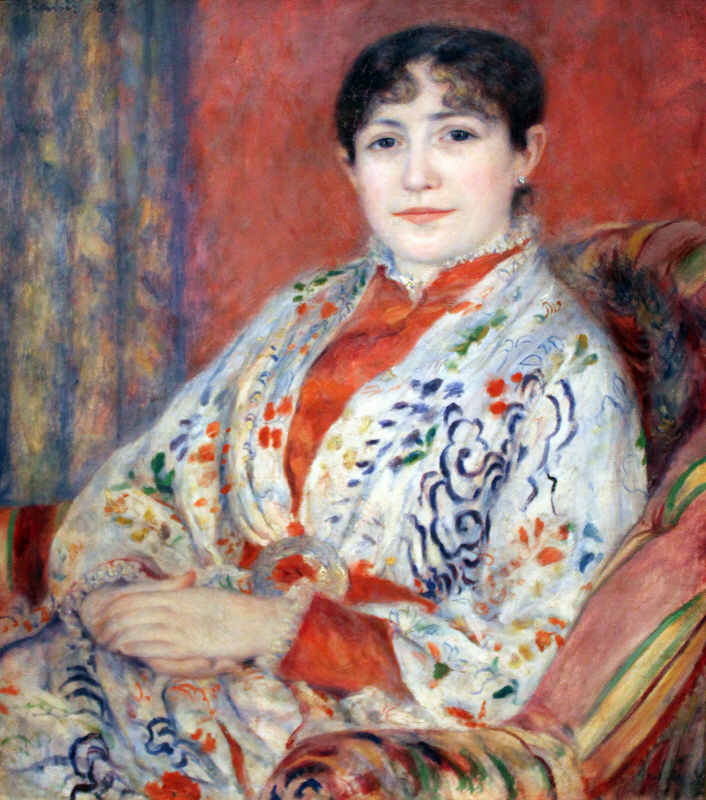 Portrait of Madame Henriot, 1882, by Anagoria