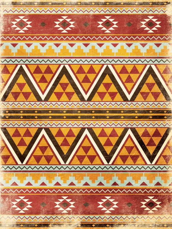Aztec Trio Red I
