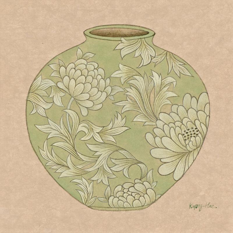 달항아리_chrysanthemum