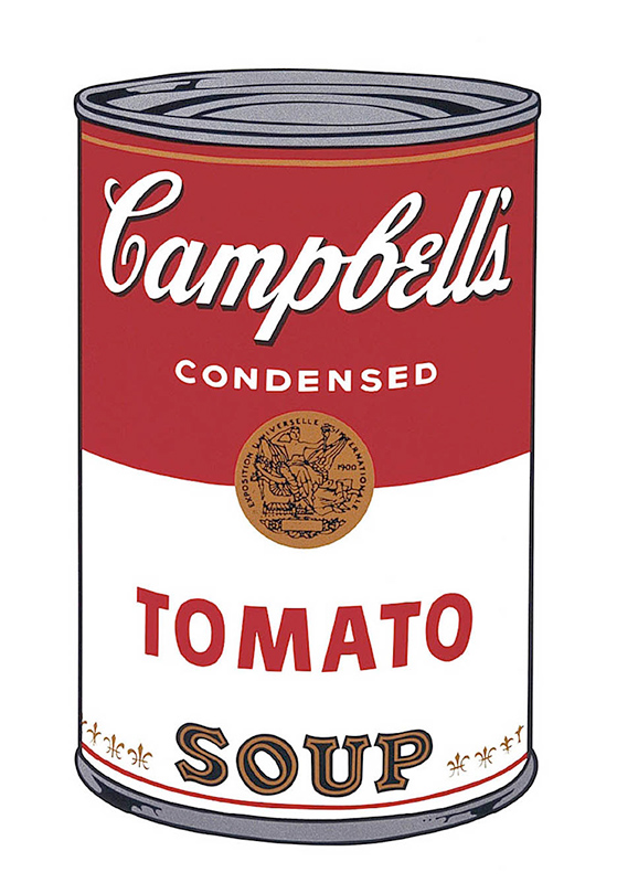 Campbell's Soup I: Tomato, 1968